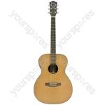 Salamander Electro-acoustic Guitars - Solid Cedar Top - OM - SC6OM