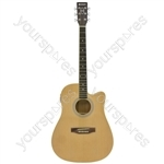 Electro Western Guitar - CW26CE - natural - CW26CE-NT