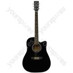 Electro Western Guitar - CW26CE - black - CW26CE-BK