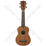 Native Series Ukuleles - Soprano Sapele