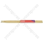 Hickory Drum Sticks - 1 Pair - 7AN - H7AN