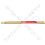 Hickory Drum Sticks - 1 Pair - 5BN - H5BN
