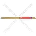 Oak Drum Sticks - 1 Pair - 7AN - O7AN
