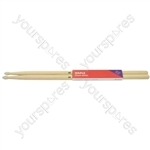 Maple Drum Sticks - 1 Pair - 5BN - M5BN