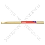 Maple Drum Sticks - 1 Pair - 2BW - M2BW