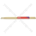 Maple Drum Sticks - 1 Pair - 2BN - M2BN