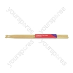Compact Hickory Drum Sticks - 1 Pair - 7AW - H7AWC
