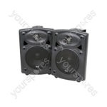 Amplified Stereo Speaker System - QR5B Active ABS Spk 5in Black