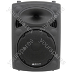 QR Series Passive Moulded PA Speaker Boxes - QR10 ABS 10in