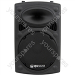 QR Series Passive Moulded PA Speaker Boxes - QR12 ABS 12in