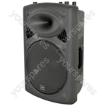 QRK Series Active Moulded Speaker Cabinets - QR15K - 400Wmax