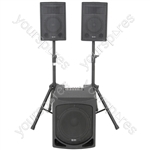 QL Series Active 2.1 PA System - QL1208MA