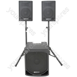 QL Series Active 2.1 PA System - QL1510MA