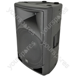 QS Series Passive Moulded Speaker Cabinets - QS15 ABS 15in
