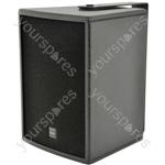 """CS-810W speaker cabinet 20cm (8"""") - white"""