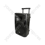 QUEST Portable PA Units - QUEST-12 + USB/SD/FM player & Bluetooth - QUEST-12PA