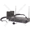 Dual Neckband Microphone VHF Wireless System - - 174.1 + 175.0MHz - VN2