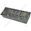 "4 Channel 19"" DJ Mixer - CDM8:4 USB 14 - INPUT RACK"