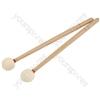 Percussion Mallets - - oak wrap - MALLETOW