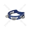 Mini D Tambourines - - dark blue - MTM-DBL