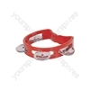 Mini D Tambourines - - red - MTM-RD