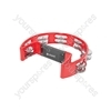 Tambourines - Single D - red - TAMB-SD-RD