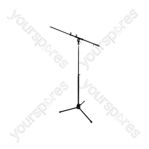 Spring-adjustable Microphone Boom Stand - SMS01 foldable