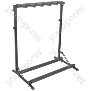 7-way guitar rack stand