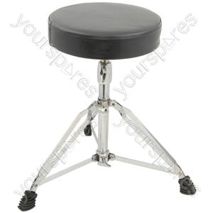 HD wide round drum throne