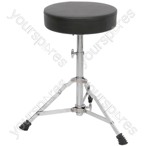 Drum throne - round seat