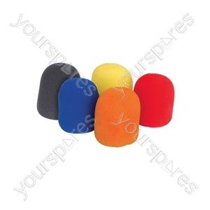 Dynamic Microphone Windshields - 5pcs Colour