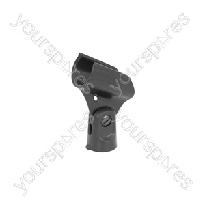 Plastic Microphone Holder - Up to 30mmØ - MH30