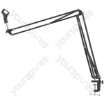 Studio Swivel Microphone Boom Arm - Large desk stand - SMS002