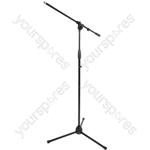 Microphone Stand with Boom Arm - Budget (black) - MS-01L