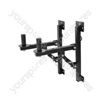 Wall Mounted Loudspeaker Brackets (supplied as a pair)
