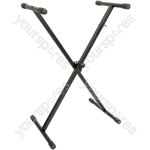 Single X-Braced Keyboard Stand