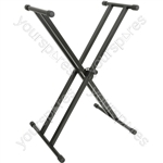X-braced Keyboard Stands - Double - KSX-2