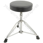 HD wide round drum throne