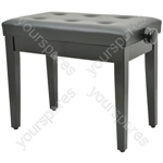 Piano bench - black (without compartment)