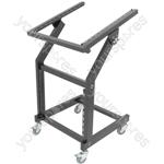 "19"" Equipment Rack Trolley - Mixer & - MSX9U12U"