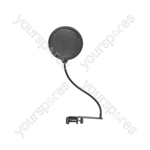 Microphone pop screen single layer 165mm