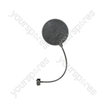 Microphone Pop Screens - single layer 165mm - POP6