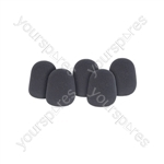 Dynamic Microphone Windshields - 5pcs
