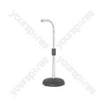 Mini gooseneck microphone stand
