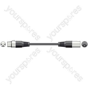 Standard Mic Lead XLR CCA 1.5m