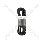 Classic 6.3mm TRS Jack to XLRM Leads - - 12.0m - S6J-XM1200