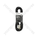 Standard Right-angled Jack Guitar Leads - RA CCA 6.0m