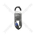 6.3mm Jack to Spk Plug Speaker Leads - Standard Speaker-Jack 1.5m