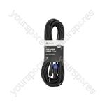 6.3mm Jack to Spk Plug Speaker Leads - Standard Speaker-Jack 12.0m
