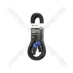 Spk Plug to Spk Plug Speaker Leads - Standard 6.0m
